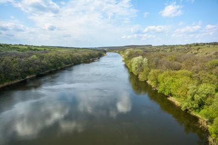 ukraine: River Southern Bug. Ukraine. Stock Photo