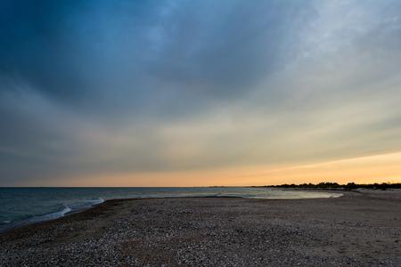 the black sea: Black Sea. Sea and sky.