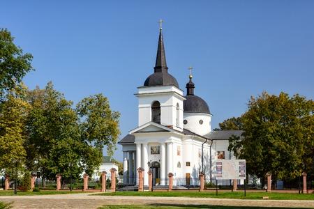 ukraine: Resurrection Church, Ukraine, Baturyin.