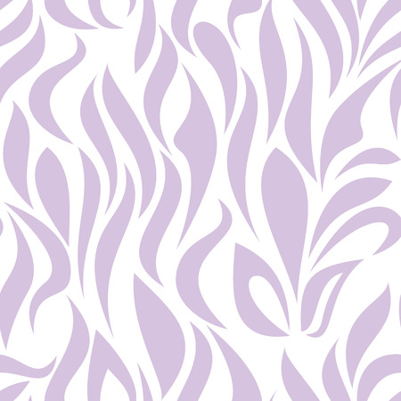 garden stuff: Seamless pattern with lilac tracery on a white background