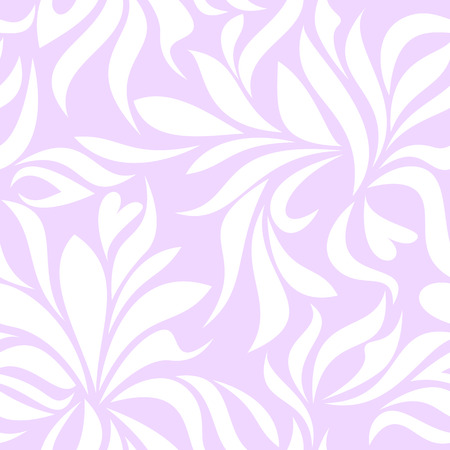 garden stuff: Seamless pattern with white tracery on a lilac background