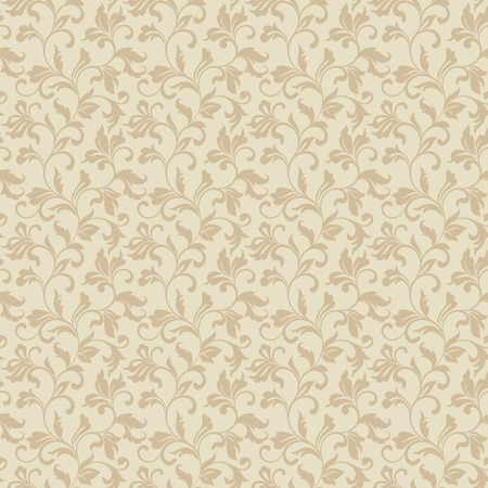 tracery: Tender seamless pattern with classic tracery on a light background. Vintage style.
