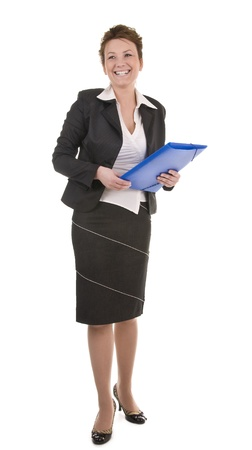 Portrait of mature and confident business woman