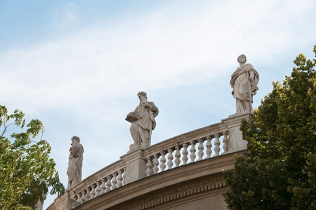 stephen: Statue di Saint Stephen Basilica a Budapest, Ungheria
