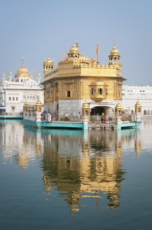 Amritsar, India, August 26, 2011- TempleDarbar Sahib, the spiritual and cultural center of the Sikh religion
