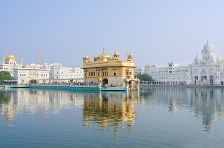 Golden TempleDarbar Sahib, the spiritual and cultural center of the Sikh religion, India photo