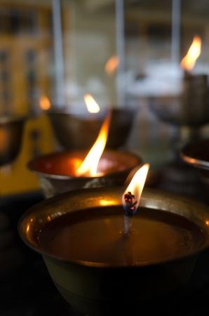 murk: Flame on lamp light oil