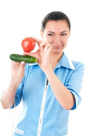 Nutritionist recommends vegetables photo