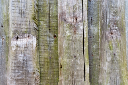 Unpainted wooden wall photo