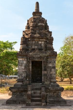 trimurti: Small building in Candi Lumbung buddhist temple, Prambanan complex, Indonesia, Java, Yogyakarta