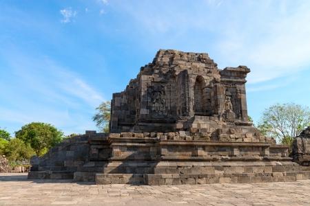 trimurti: Ruins of Candi Lumbung buddhist temple, Prambanan complex, Indonesia, Java, Yogyakarta