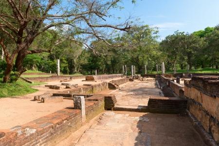 anuradhapura: Ruins of kitchen in ancient monastery, Anuradhapura, Sri Lanka