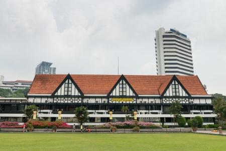 rsc: KUALA LUMPUR - JUN 15: Royal Selangor Club on Jun 15, 2013 in Kuala Lumpur, Malaysia. It is a social club in Kuala Lumpur, Malaysia, founded in 1884 by the British who ruled Malaya.  Editorial