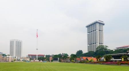 Merdeka Square (Independence Square) in Kuala Lumpur, Malaysia.  photo