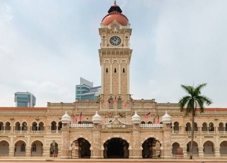 sultan: Sultan Abdul Samad Building in Kuala Lumpur, Malaysia