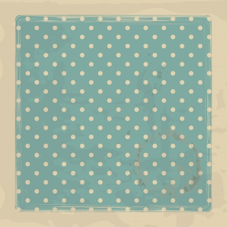 retro background with polka dots Stock Vector - 16110033