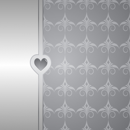 bodas de plata: fondo gris elegante