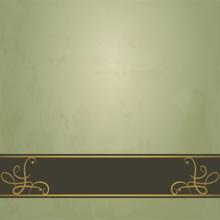 dark green vintage background Stock Vector - 16513090