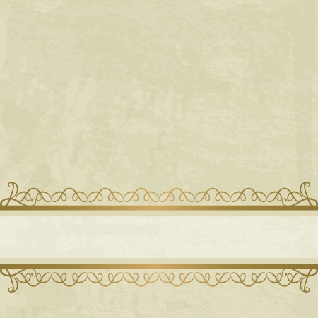 elegant vintage background Stock Vector - 16513096