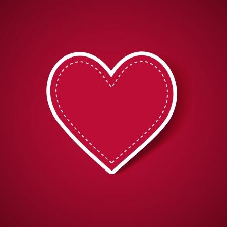 wedding heart: Valentine s card Illustration
