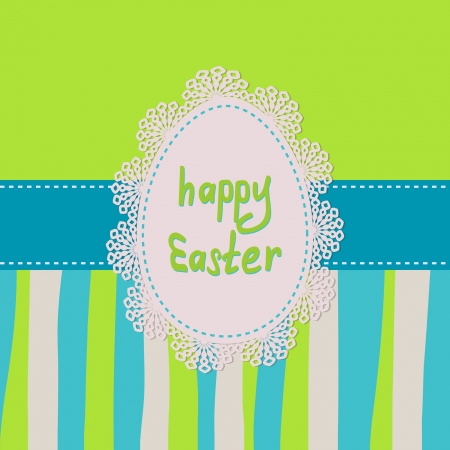Easter greeting card Stock Vector - 17948577