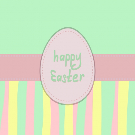 pastel Easter background Vector