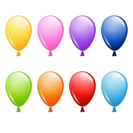 set of balloons Stock Vector - 17948593