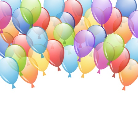 balloon background: background with a group of balloons
