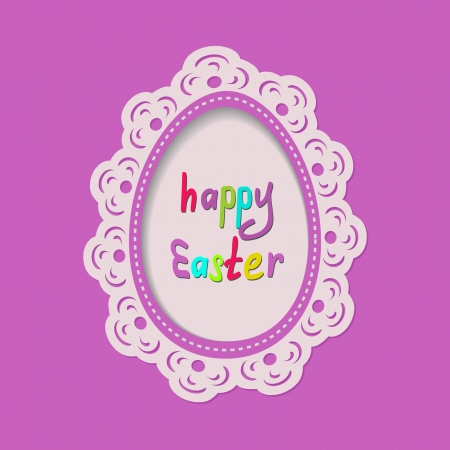bright Easter greeting card Stock Vector - 18003346