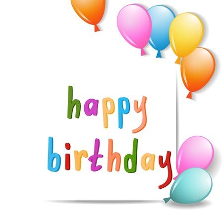 birthday card Stock Vector - 18148187