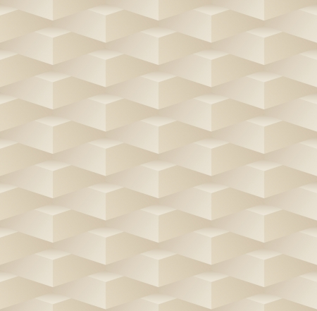 3d beige seamless pattern with blocks Vector