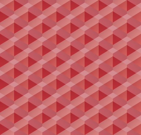 red geometric seamless pattern Vector
