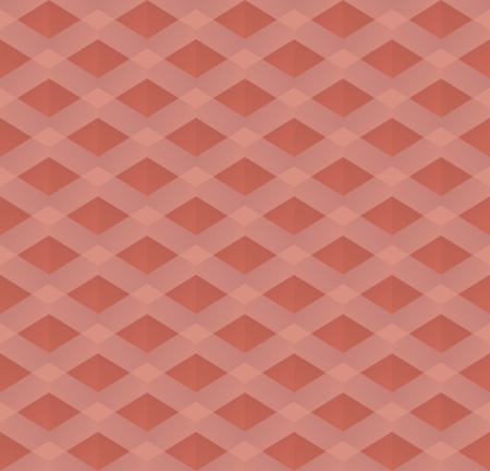 red retro seamless pattern Vector