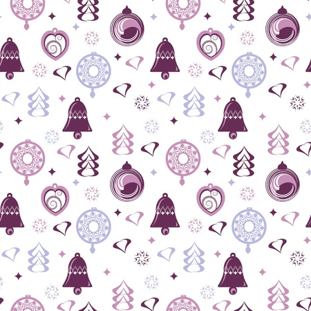 seamless pattern for winter holidays  Vector