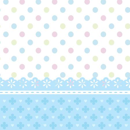 Babyparty oder Grußkarte für einen Jungen