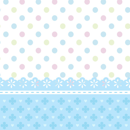 douche de bébé ou carte de voeux pour un garçon