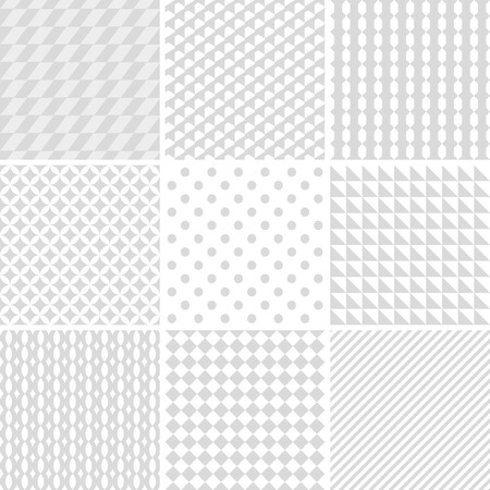 diagonal lines: set of monochrome geometric patterns