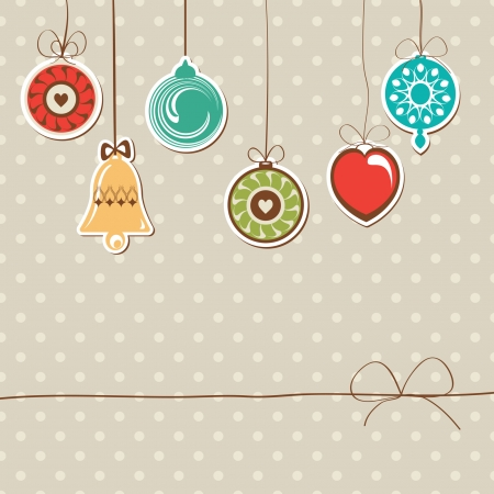 vintage holiday background Vector