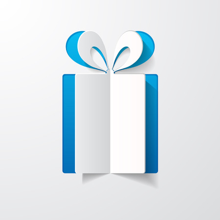 paper gift box Vector