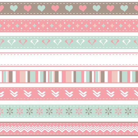 Valentines ribbons