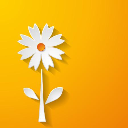 a paper flower Vector