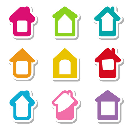 9 house icons