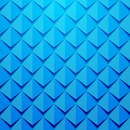 colorful blue 3d background. Pattern is seamless without top layer Vector
