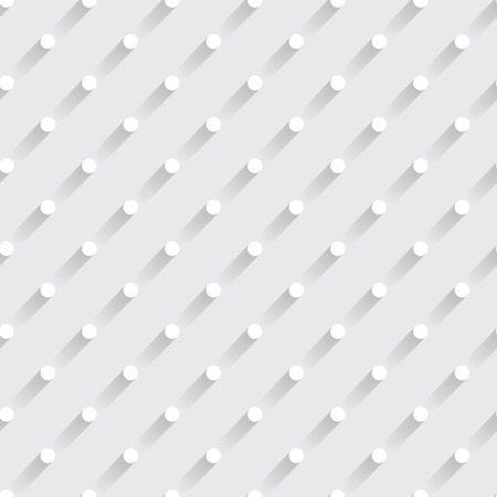 seamless paper: 3d seamless paper pattern with circles Illustration