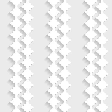 seamless paper: decorative 3d seamless paper pattern Illustration