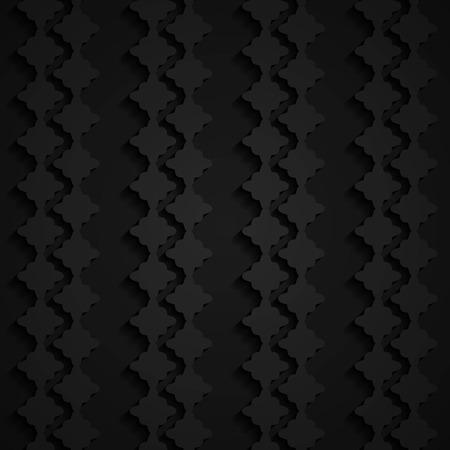 seamless paper: black 3d seamless paper pattern