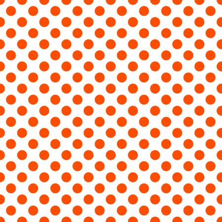 Autumn seamless patterns. Endless texture for wallpaper, background, texture. Set of halloween and thanksgiving ornament. Orange and white colors