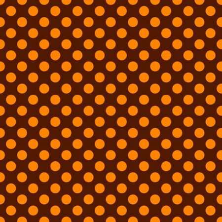 Autumn seamless patterns. Endless texture for wallpaper, fill, web page background, texture. Set of halloween and thanksgiving geometric ornament. Orange and brown colors.
