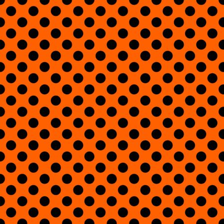 Autumn seamless patterns. Endless texture for wallpaper, background, texture. Set of halloween and thanksgiving ornament. Orange and black colors Stock Photo