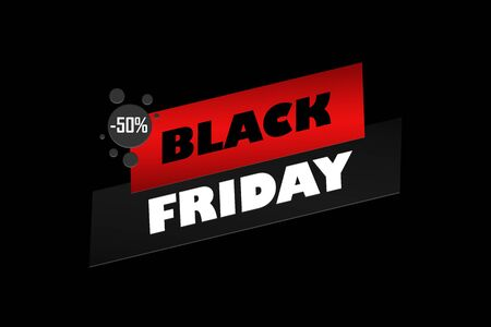 Abstract black friday sale 50 percent off layout background. For art template design, list, page, mockup brochure style, banner, idea, cover, booklet, print, flyer, book blank card poster badge Stock Photo